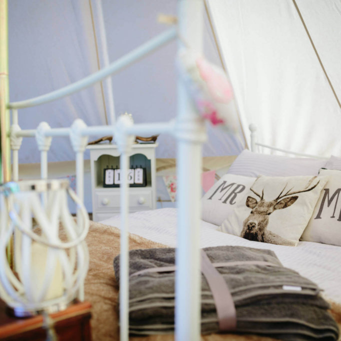 The Honeymoon Tent Bed