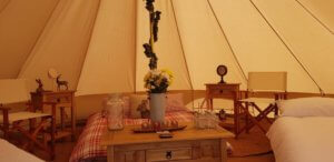 Country themed Bell Tent