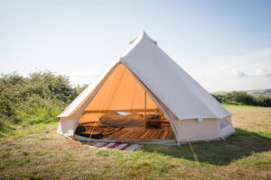 Bell Tent sitting on grass